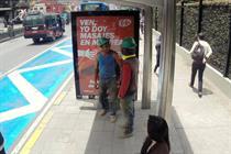 Kit Kat billboards give Bogotá's stressed-out commuters back massages