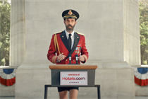 Hotels.com's Captain Obvious is really (really) running for president