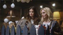 'Frozen' stars Kristen Bell and Idina Menzel reunite for AmEx spot
