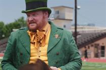 Live-action leprechaun brings good fortune in Lucky Charms spots