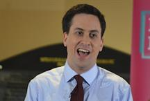 Ed Miliband is the only party leader living in a 'mansion'