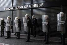 Carnage on the Greek stock market