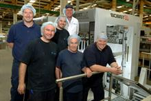 Bobst provided two weeks' training for Benson's Gateshead staff