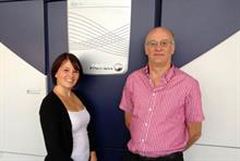 Directors Claire and Martyn Austin with their Xerox iGen 4