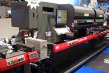 The EFI Jetrion 4900 press, which was demonstrated at Drupa 2012