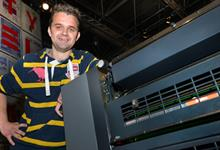 Stowe with the Speedmaster SX 52-5 at Drupa