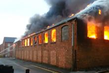 Arden Direct Marketing's Barwell factory was gutted by the blaze