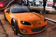 Creative FX wrapped the Mazda MX-5 GT concept car that was unveiled last weekend at Goodwood