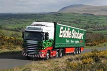 The decoration of a new Stobart vehicle can take almost six hours