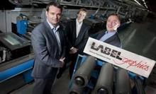 Alex Mulvenny, Managing Director, Labelgraphics; Peter Mulvenny  Joint Owner & Operations Director, Labelgraphics; Neil Stephenson, Gallus