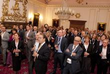 The PrintWeek 2012 Power 100 at Stationers Hall