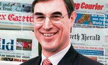 Johnston Press chief executive Tim Bowdler