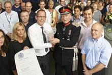 Domino: Fifth Queen's Award