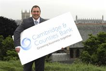 Cambridge and Counties Bank chief executive Gary Wilkinson