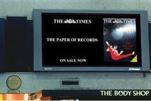 The Times: digital campaign