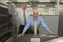 HSW Print joint directors Malcolm and David Hackman (l-r)