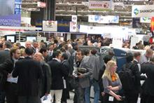 The bustling Xerox stand at Ipex 2010
