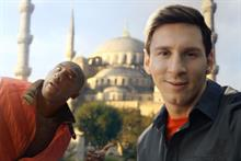 Turkish Airlines plots selfie sensation with #kobevsmessi ad