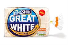 Kingsmill hopes for 'emotional' connection with Great White high-fibre loaf launch