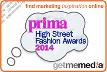 Sponsor the 2014 Prima High Street Fashion Awards with Hearst