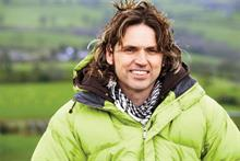 Ecotricity founder Dale Vince talks the talk...  and walks the walk