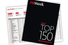 PRWeek's Top 150 Consultancies 2014 open for entries
