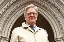 Legal Diary: Tory MP Sir Edward Garnier and the 'aggressive' claim