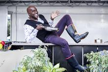 Ainsley Harriott dons wellies at work to support Farm Africa