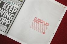 BHF takes over The Sun as part of 'Unexpected' campaign