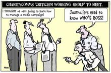 Fran on the new 'criticism working group'