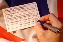 Round up of voluntary sector reaction to the EU referendum result
