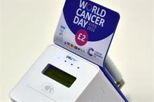 CRUK to use contactless payment during World Cancer Day collections