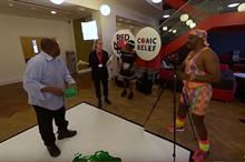 Comic Relief creates virtual reality comedy sketch for Red Nose Day