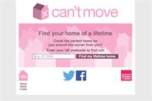 Leonard Cheshire Disability's spoof property website Can't Move draws attention to housing issues for disabled people