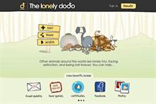 Third Sector Excellence Awards 2013: Use of digital media - Winner: Durrell Wildlife Conservation Trust: The Lonely Dodo
