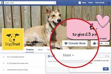 Charities welcome Facebook decision to let them use 'donate now' buttons