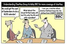 Fran on lobbying the BBC for more coverage of charities