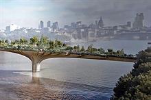 London Garden Bridge is not a going concern, say trustees