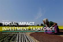 Social investment taskforce urges reforms to let charities 'embrace entrepreneurial risk-taking'