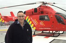 Jonathan Jenkins appointed chief executive of London's Air Ambulance