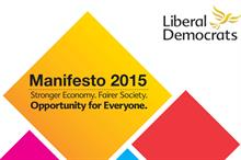 Lib Dem manifesto says party would consider whether the lobbying act strikes the right balance
