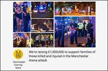 Campaign raises more than £1m for Manchester victims' families in two days