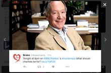 Moral Maze debates charities - and Twitter reacts