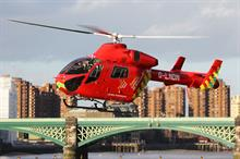 Business Charity Awards - Charity Partnership, Legal: Hogan Lovells with London's Air Ambulance