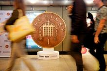 Penny for London closes having raised just £3,000 of £25m a year target