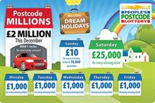 People's Postcode Lottery opens applications for a share of £4m funding