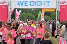 Race for Life was top-grossing mass-participation fundraising event of 2014