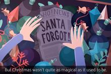 Advertising watchdog rejects complaints about advert featuring Santa with dementia