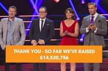 Stand Up to Cancer TV fundraiser nets £14.5m for Cancer Research UK