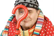 Sylvester McCoy backs Barnardo's winter clothes appeal